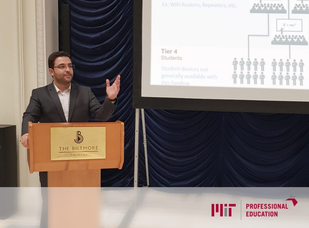 محمد صبور در دانشگاه MIT