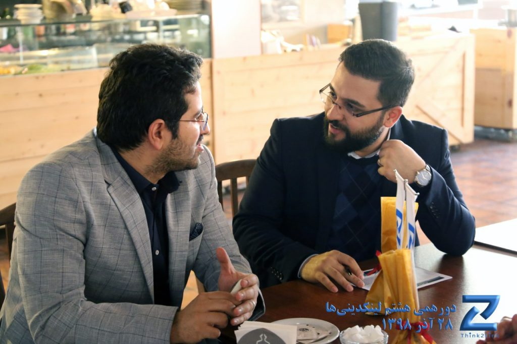 محمد صبور در گردهمایی لینکدینیها